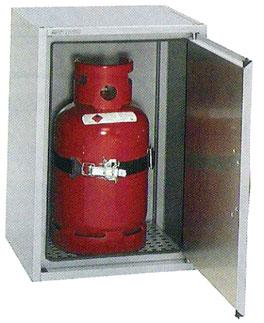 Gasflaschenschrank