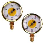 Arbeitsmanometer Acetylen