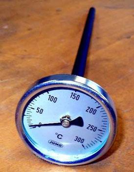 Bimetall-Zeiger-Thermometer