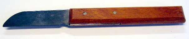 Kabelmesser mit Holzhandgriff