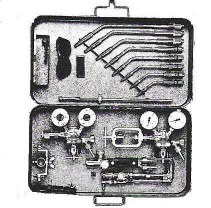 kombinierte Montageausrüstung